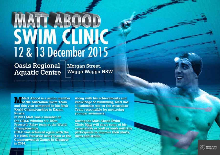Matt Abood Swim Clinic